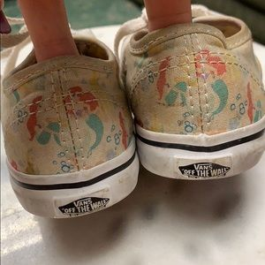 c132a3c20abd5b Vans Shoes - Kids little mermaid Vans size 9 in used condition